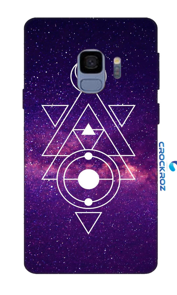 SAMSUNG S9 Triangular Designed Back Cover