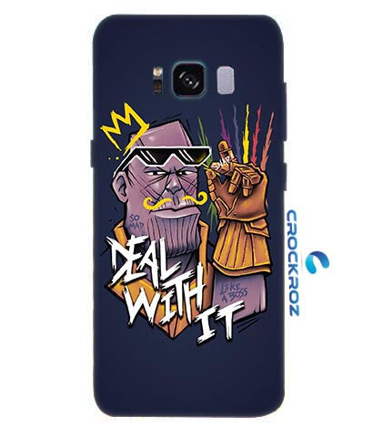 Samsung Galaxy S8 Angry man Designed Back Cover