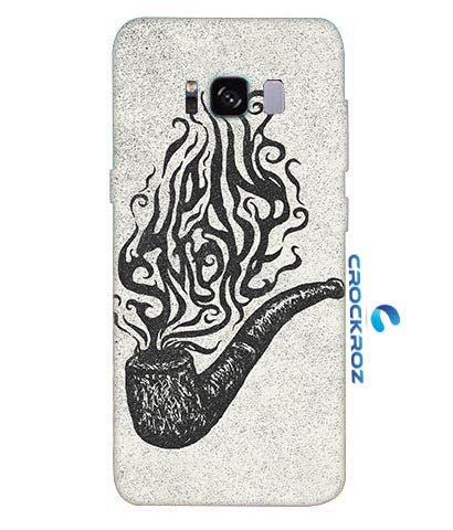Samsung Galaxy S8 Smoky Designed Back Cover