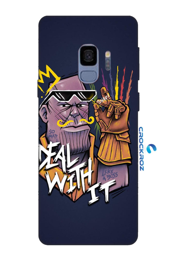 Samsung Galaxy S9 Angry man Designed Back Cover