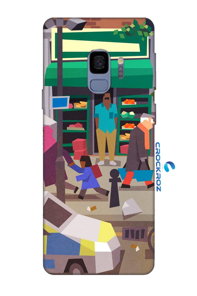 Samsung Galaxy S9 Street life Designed Back Cover
