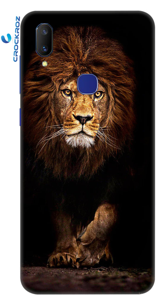 Vivo V11 lion's attitude Designed Back Cover