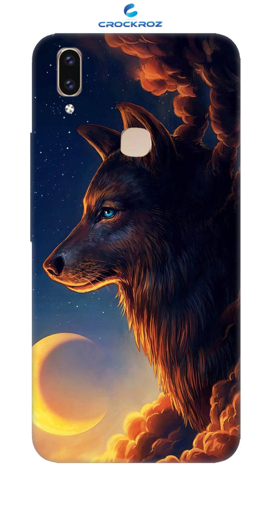 Vivo V9 Wolf Designed Back Cover