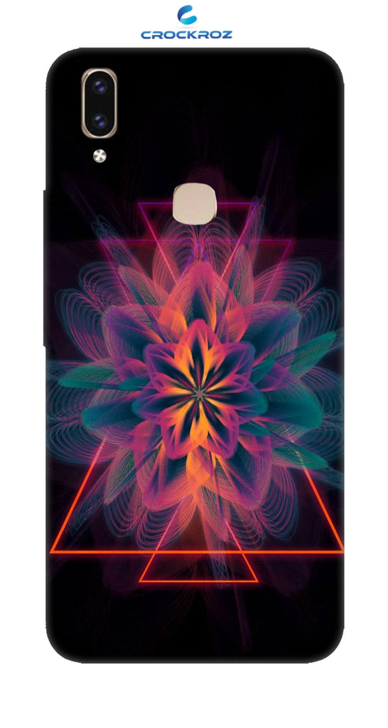 Vivo V9 Color magic Designed Back Cover