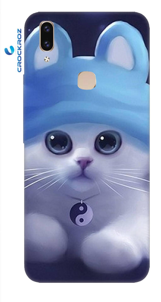 Vivo V9 cutie  cats Designed Back Cover
