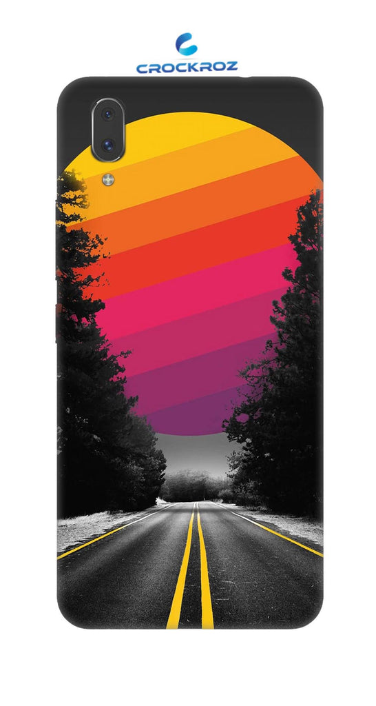 Vivo X21 Lonely roads Designed Back Cover