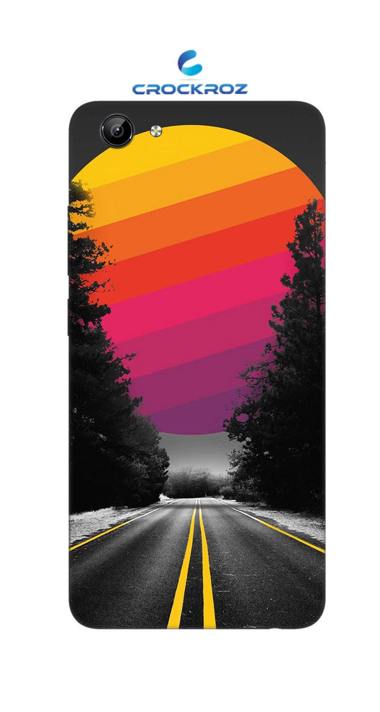 Vivo Y71 Lonely roads Designed Back Cover