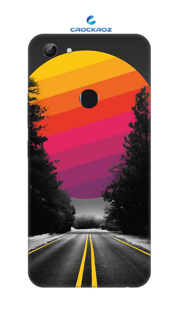 Vivo Y83 Lonely roads Designed Back Cover