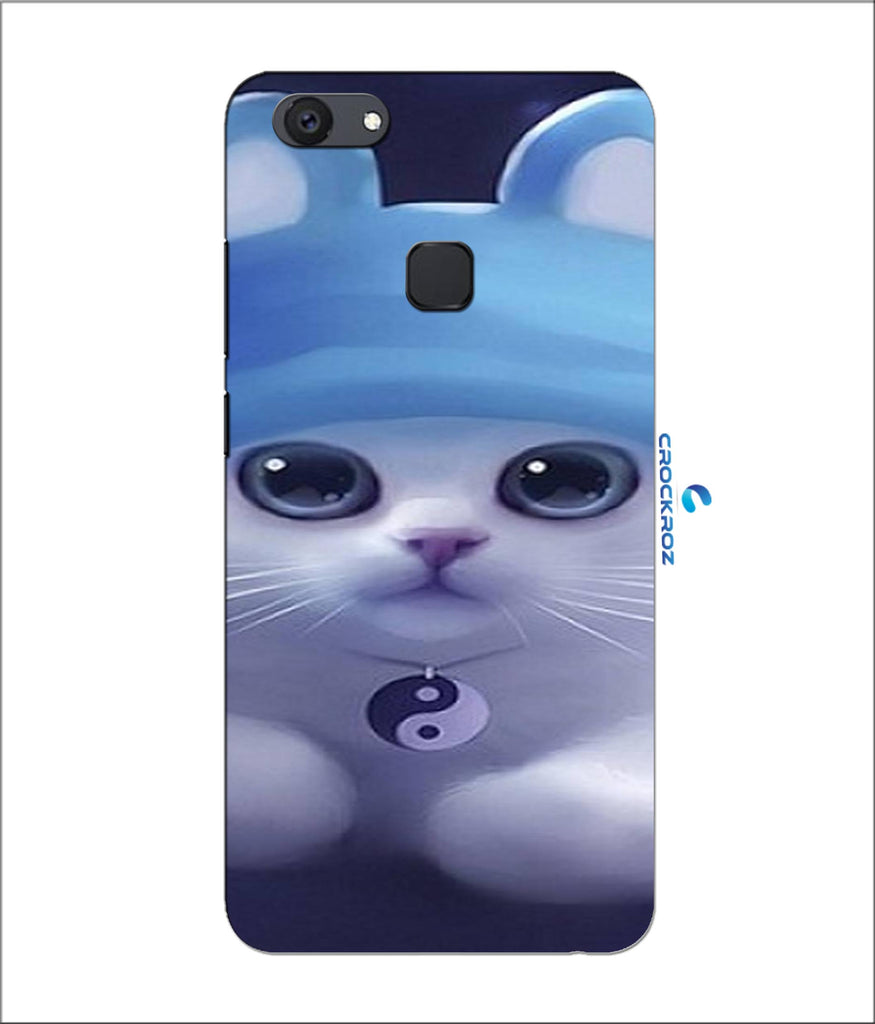 Vivo V7 Plus cutie  cats Designed Back Cover