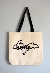 Upper Peninsula Home Tote Bag