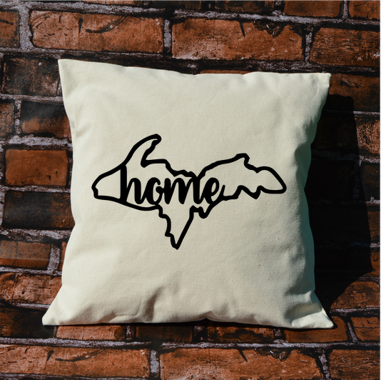 Upper Peninsula Home Pillow