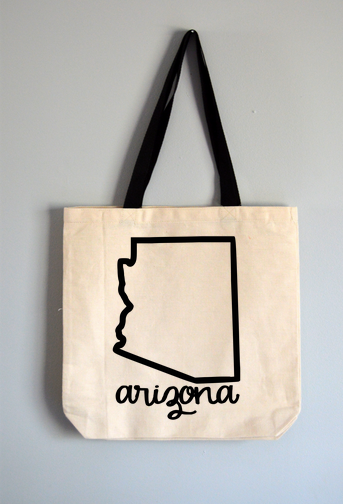 Arizona Name Tote Bag
