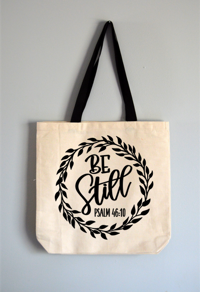 Be Still Tote Bag