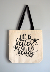 Better at the Beach Tote Bag
