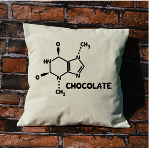 Chocolate Chemistry Pillow