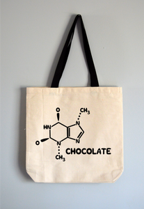 Chocolate Chemistry Tote Bag