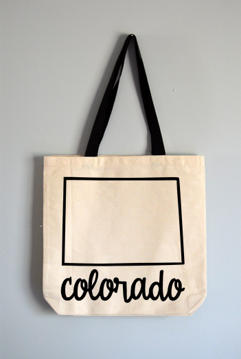 Colorado Name Tote Bag