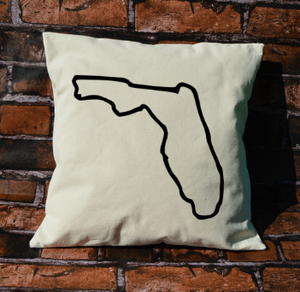 Florida Outline Pillow