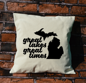 Great Lakes Great Times Pillow