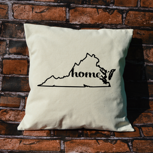 Virginia Home Pillow