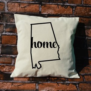 Alabama Home Pillow