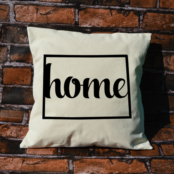 Colorado Home Pillow