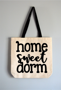 Home Sweet Dorm Tote Bag