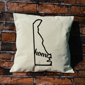 Delaware Home Pillow