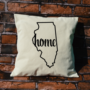 Illinois Home Pillow