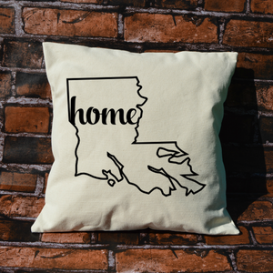 Louisiana Home Pillow