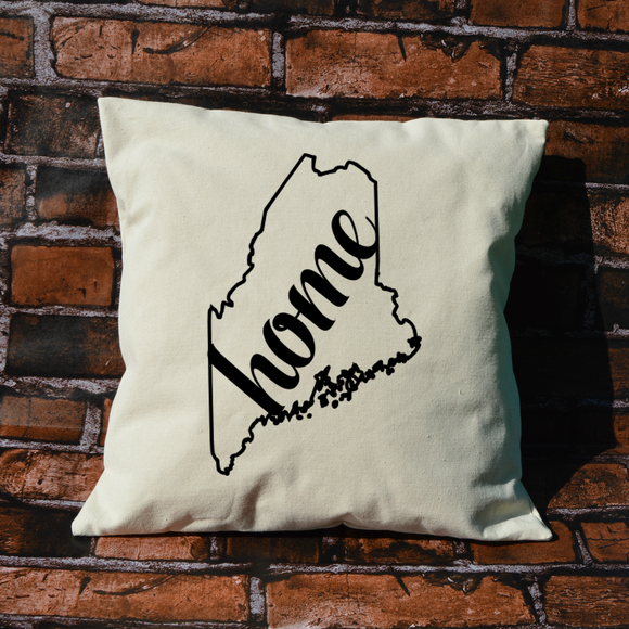 Maine Home Pillow