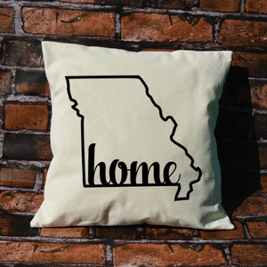 Missouri Home Pillow