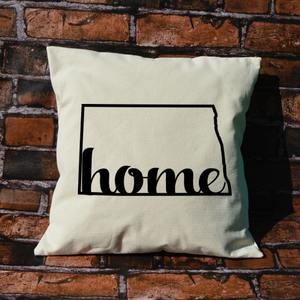 North Dakota Home Pillow