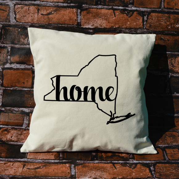 New York Home Pillow