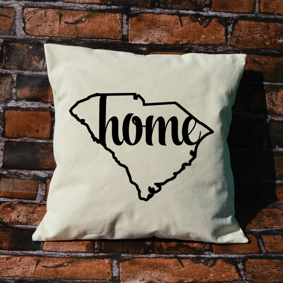 South Carolina Home Pillow