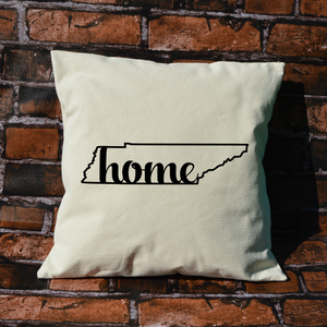 Tennessee Home Pillow