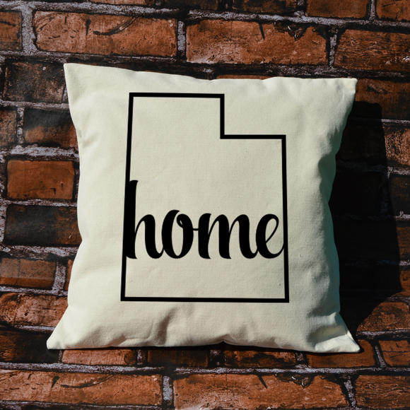 Utah Home Pillow