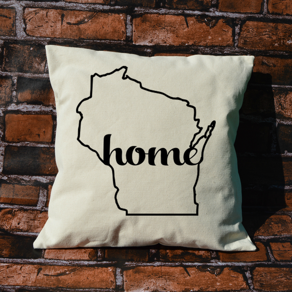 Wisconsin Home Pillow