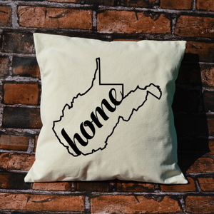 West Virginia Home Pillow