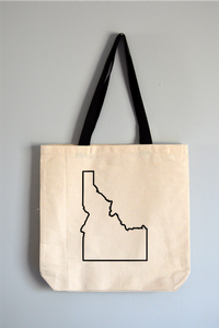 Idaho Outline Tote Bag