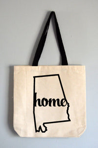 Alabama Home Tote Bag