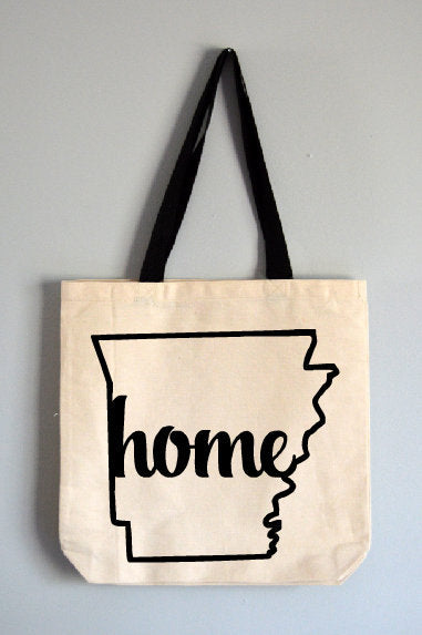 Arkansas Home Tote Bag