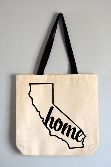 California Home Tote Bag