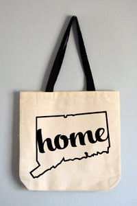 Connecticut Home Tote Bag