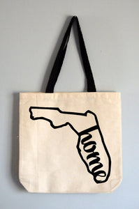 Florida Home Tote Bag