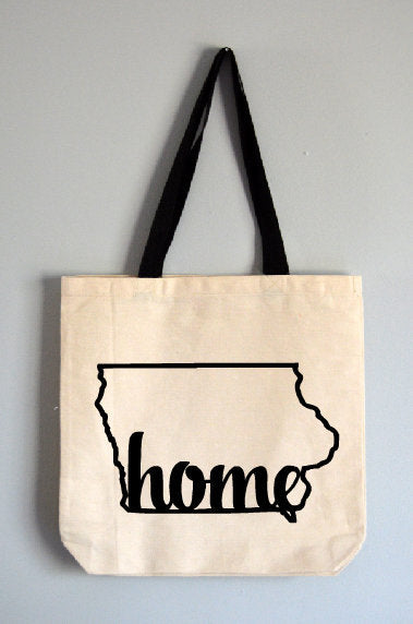 Iowa Home Tote Bag