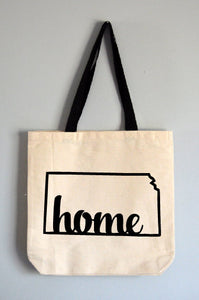 Kansas Home Tote Bag