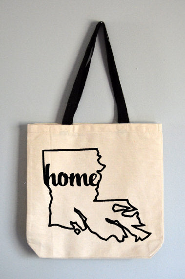 Louisiana Home Tote Bag