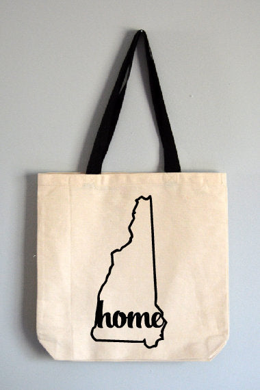 New Hampshire Home Tote Bag