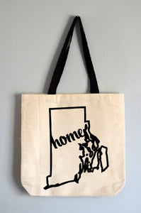 Rhode Island Home Tote Bag